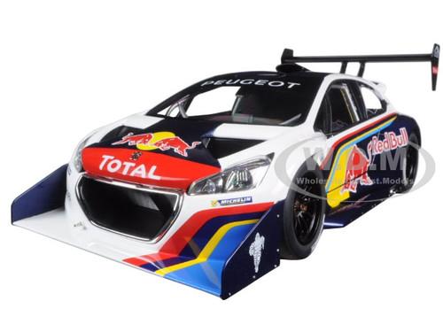 2013 Peugeot 208 T16 Pikes Peak Race Car Red Bull 1/18