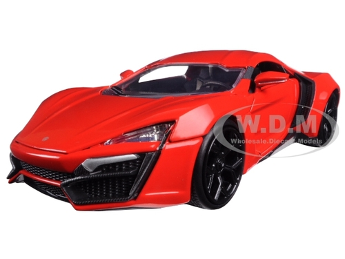 """Lykan Hypersport """"Fast & Furious 7"""" Movie 1/24 Diecast Model Car Jada 97377"""