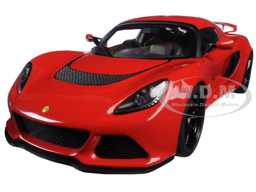 Lotus Exige S Red 1 18 Model Car Autoart 75381