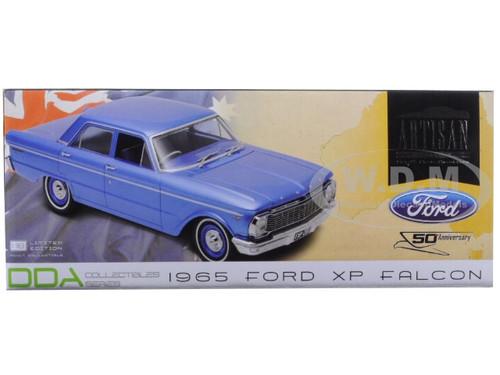 DDA Greenlight Blue 1:18 1965 Ford XP Falcon Sedan