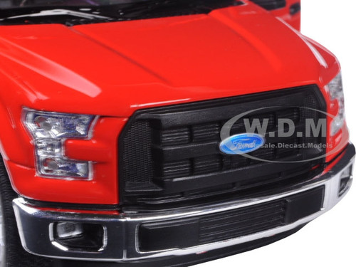 2015 Ford F-150 Regular Cab Pickup Truck Red 1//24-1//27 Diecast Model Welly