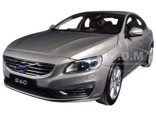 2015 Volvo S60 Seashell Metallic 1 18 Model Car By Ultimate Diecast