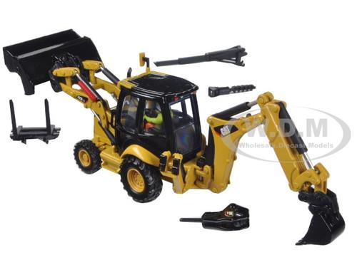 CAT Caterpillar 420E Center Pivot Backhoe Loader with
