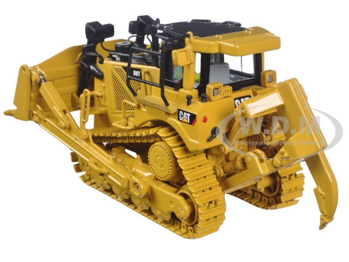 CAT CATERPILLAR D8T TRACK TYPE TRACTOR WITH RIPPER 1//50 BY DIECAST MASTERS 85299