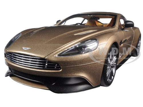 Aston Martin Vanquish Selene Bronze 1/18 Model Car Autoart 70248
