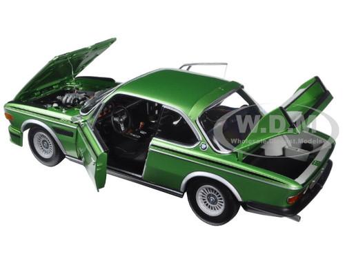 504 pcs. 1975 greenmetallic ltd E9 1:18 Minichamps BMW 3,0 CSL