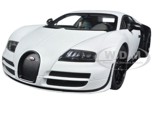 bugatti veyron super sport pur blanc edition 1 18 diecast model car autoart 70933. Black Bedroom Furniture Sets. Home Design Ideas