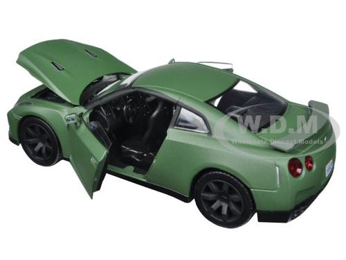 2008 Nissan GTR Motor Max 79506-1//24 Scale Diecast Model Toy Car Green