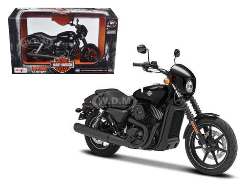 2015 Harley Davidson Street 750 Motorcycle Model 1/12 Maisto 32333