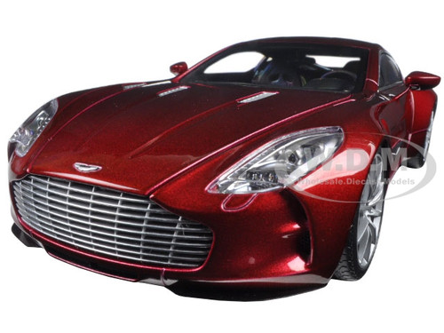Aston Martin One 77 Diavolo Red 1/18 Diecast Model Car Autoart 70245