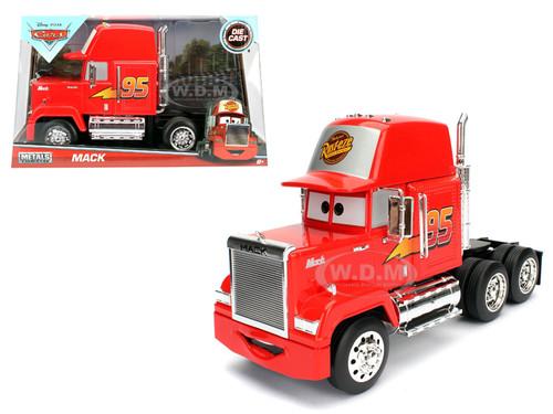 disney pixar mack trailer cars movie 1 24 diecast model jada 98103