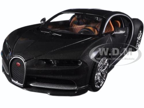 Bugatti Chiron Grey 1/24 cast Model Car Maisto 31514