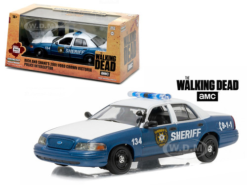 Rick S Police Car Walking Dead
