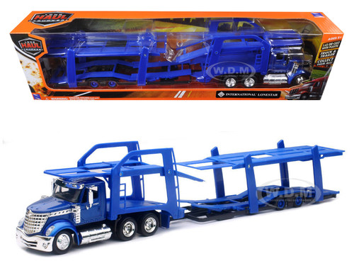 Lonestar Blue With Twin Auto Carrier 1 43 New Ray Ss 16713