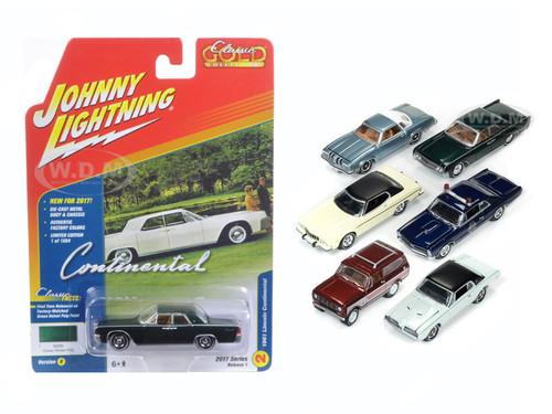 Classic Gold 2017 Set of 6 cars Release B 1/64 Diecast Model Car Johnny Lightning JLCG003  sc 1 st  Diecast Models Wholesale & Gold 2017 Set of 6 cars Release B 1/64 Diecast Model Car Johnny ... azcodes.com