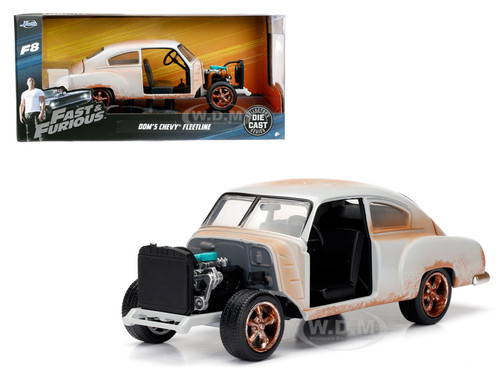 dom 39 s chevrolet fleetline fast furious f8 the fate of the furious movie 1 24 diecast model. Black Bedroom Furniture Sets. Home Design Ideas