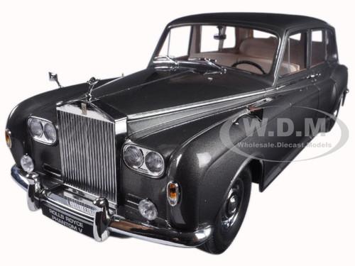 1964 Rolls Royce Phantom V MPW Gunmetal Grey LHD 1/18 Diecast Model Car Paragon 98214