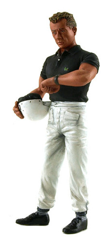 1960's Phil Hill Standing Holding Helmet Figurine for 1/18 Lemans Miniatures 180023