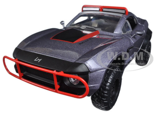 """Letty's Rally Fighter Fast & Furious F8 """"The Fate of the Furious"""" Movie 1/24 Diecast Model Car Jada 98297"""