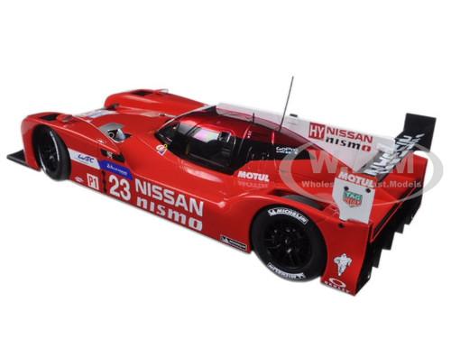 Pla 1:18 AUTOart Nissan GT-R LM Nismo #23 24h LeMans 2015 Chilton