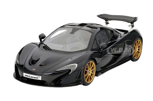2014 Mclaren P1 Gotham Black Limited to 300pcs 1/12 Model Car True ...