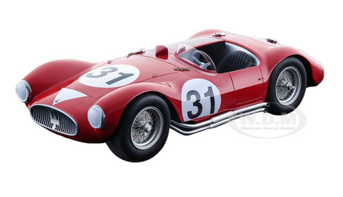 1955 Maserati A6 GCS Barchetta Le Mans #31 De Giardini-Tomasi Limited Edition to 100pcs 1/18 Model Car Tecnomodel TM18-44D