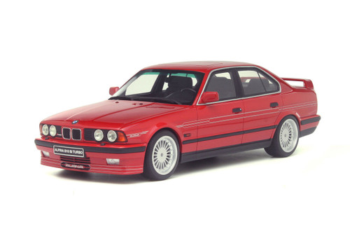 BMW Alpina E34 B10 Biturbo Red 1/18 Model Car Otto Models OT648
