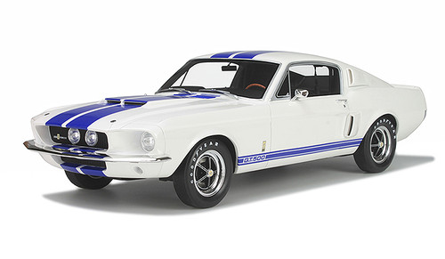 1967 Ford Shelby Mustang GT 350 White Limited Edition of 1000pc 1/12 Model Car Otto Models G022