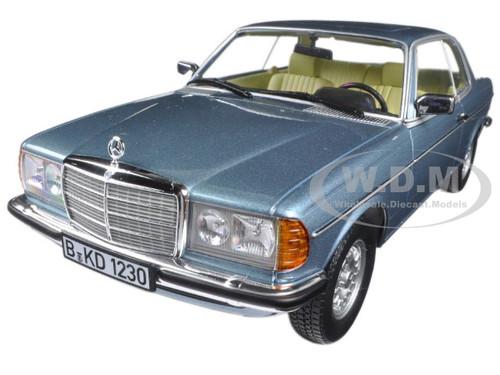 1980 mercedes 280 ce silver blue metallic 1 18 diecast for Mercedes benz 1980 models
