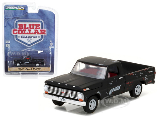 Ford F  Pickup Truck Tupelo Grease  Cast Model Car Greenlight  B