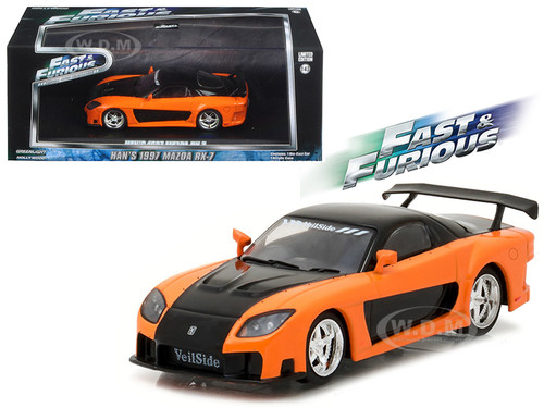 Mazda Rx 7 Fast And Furious Tokyo Drift Movie 2006 1 43 Diecast