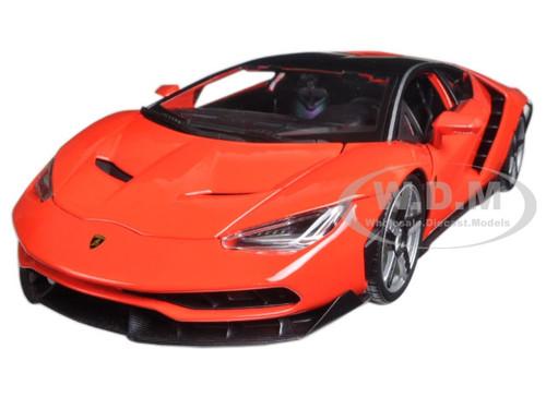 Lamborghini Centenario Red 1/18 Diecast Model Car Maisto 31386