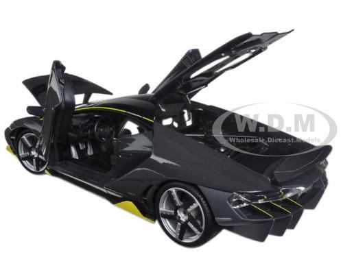 Lamborghini Centenario Grey 1 18 Diecast Model Car Maisto 31386