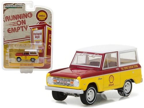 1967 Ford Bronco Shell Oil 1/64 Diecast Model Car Greenlight 41020 B