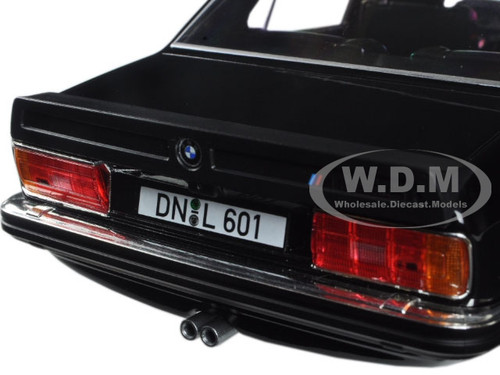 1980 BMW M535i Black 1/18 Diecast Model Car Norev 183264