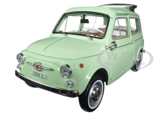 1962 fiat 500 giardiniera light green 1 18 diecast model car norev 187723. Black Bedroom Furniture Sets. Home Design Ideas