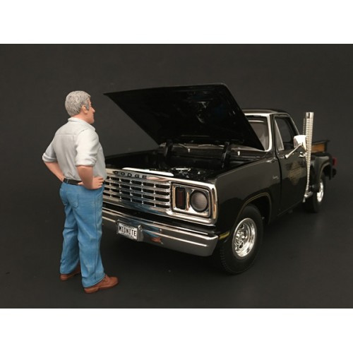 70's Style Figure V For 1:24 Scale Models American Diorama 77505