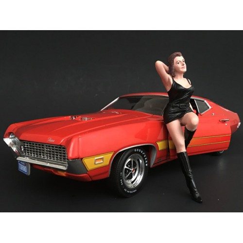70's Style Figure I For 1:18 Scale Models American Diorama 77451