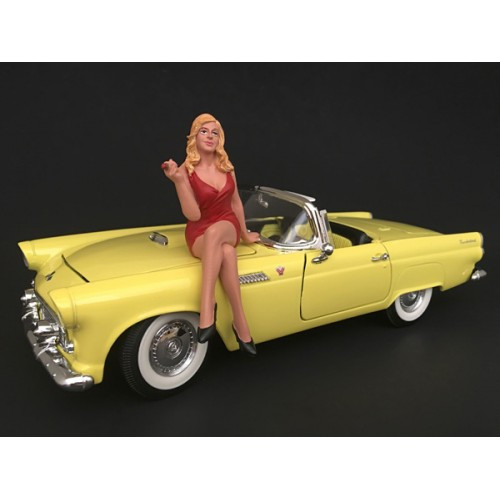 70's Style Figure IV For 1:18 Scale Models American Diorama 77454