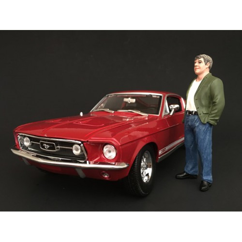 70's Style Figure VII For 1:18 Scale Models American Diorama 77457