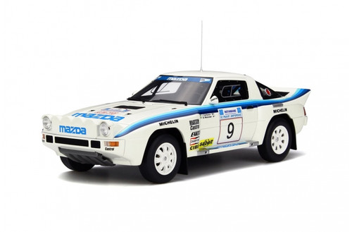 Mazda RX-7 Group B #9 Limited Edition to 1750pcs 1/18 Model Car Otto Models OT226