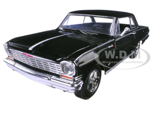 1964 Chevrolet Nova Ss Black Quot Muscle Car Collection Quot 1 25