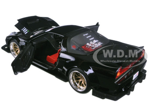 2002 Honda Nsx Type R Japan Spec Black Widebody Jdm Tuners 1 24