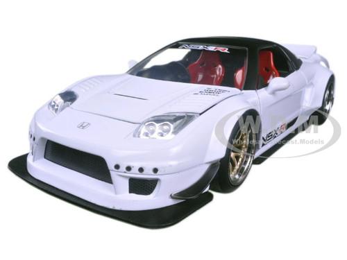 Honda Nsx Type R Japan Spec White Widebody Jdm Tuners 1 24 Diecast