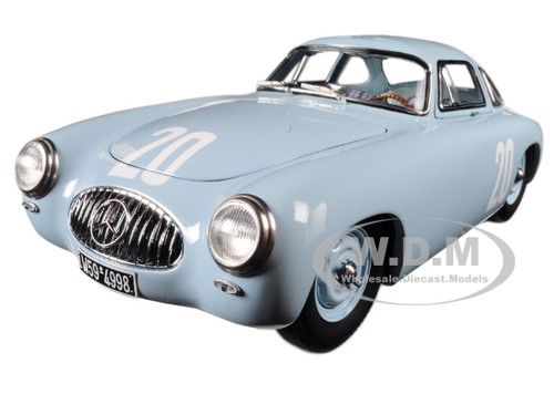 mercedes 300 sl 20 blue grand prix of bern 1952 limited to 1500 pieces worldwide 1 18 diecast. Black Bedroom Furniture Sets. Home Design Ideas