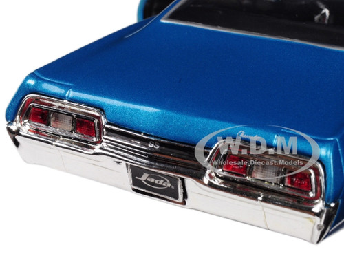Blue 1//24 Scale Diecast Model Toy Car Jada 98911-MJ Details about  /1967 Chevy Impala