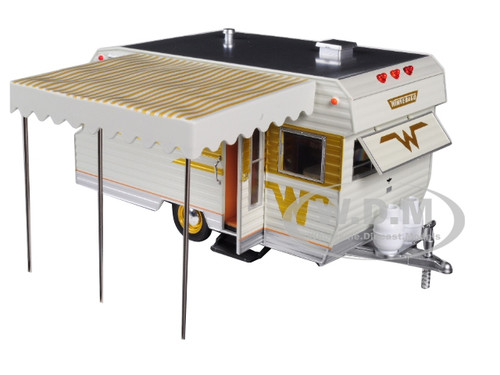 Greenlight 18420 B 1964 Winnebago 216 Travel Trailer Diecast Model 1 24 New Sumo Ci