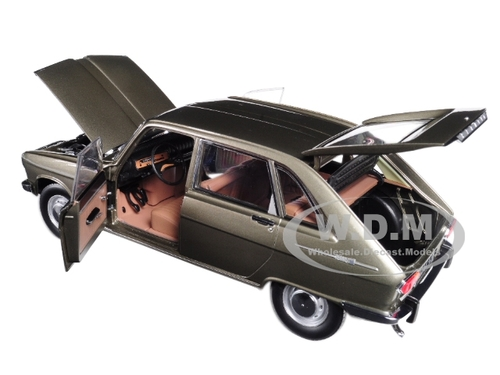 Renault 16 1968 Grey Metallic R16-1:18 Norev MODELLAUTO DIECAST 185133