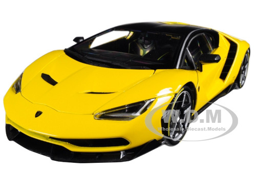 Lamborghini Centenario Yellow Exclusive Edition  Cast Model Car Maisto