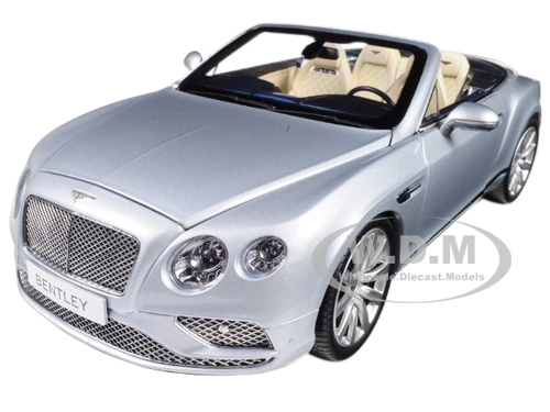 2016 Bentley Continental GT Convertible LHD Silver Frost 1/18 ...